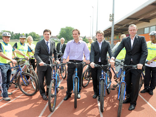 Burnham unveils physical activity proposals