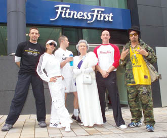 Celebs open 150th UK Fitness First club