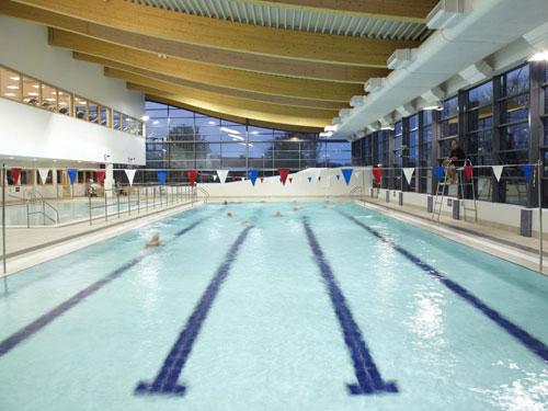 Heworth's new main swimming pool