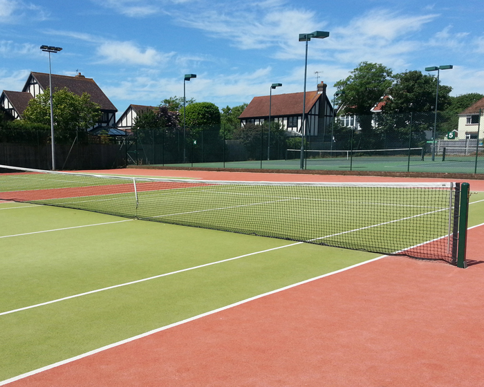 Replay value for Sussex club's tennis courts