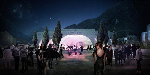 Public cultural events will take place at the site / BIG