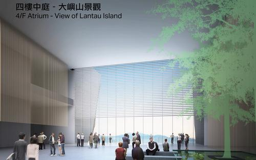 The museum is planned as a 'gateway to cultural exchange between the East and the West' / WKCDA