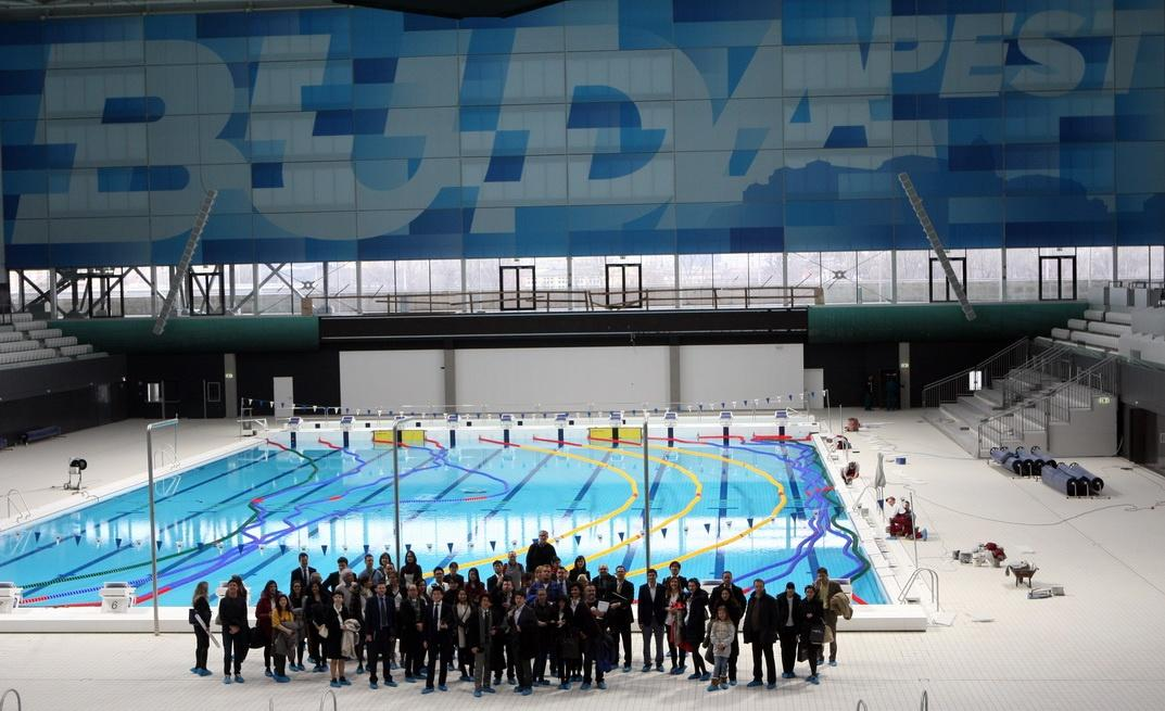 A press event has been held to officially open the complex / FINA