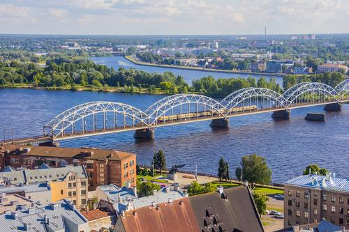 A view of Riga, Latvia, where a new modern art gallery will be built / Shutterstock / HiredFalcon
