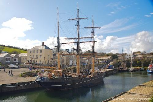 Charlestown: one of Poldark's many locations