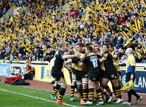 Wasps has more than tripled its attendances since its move to the Ricoh Arena