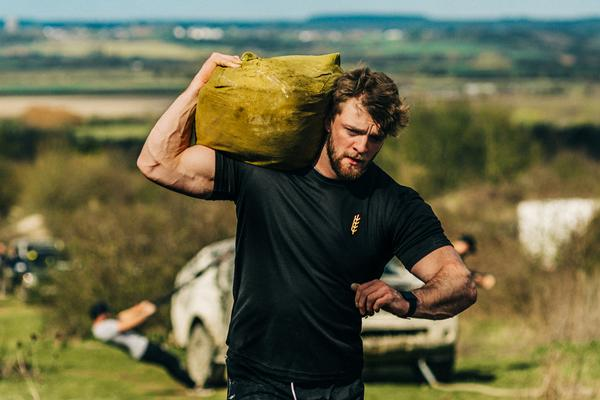 Personal trainer Tom Kemp grew up in a farming family and has brought these worlds together with Farm Fitness
