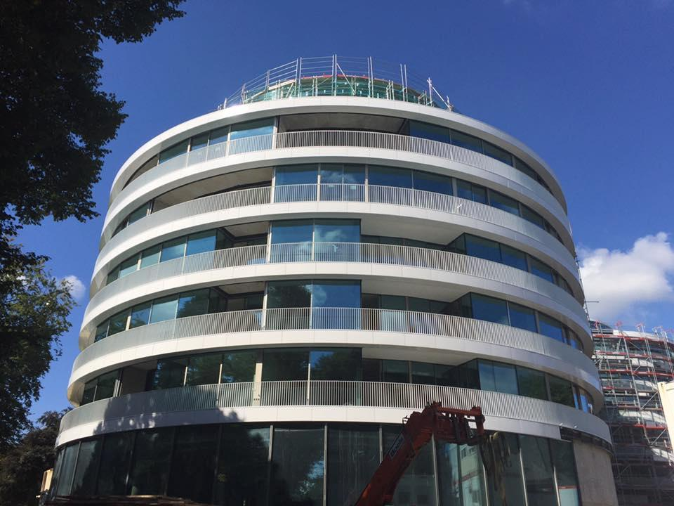 Work is nearing completion ahead of the hotel's opening towards the end of the year / The Fontenay