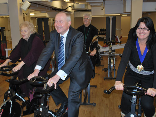 Refurbished Camden fitness centre reopens