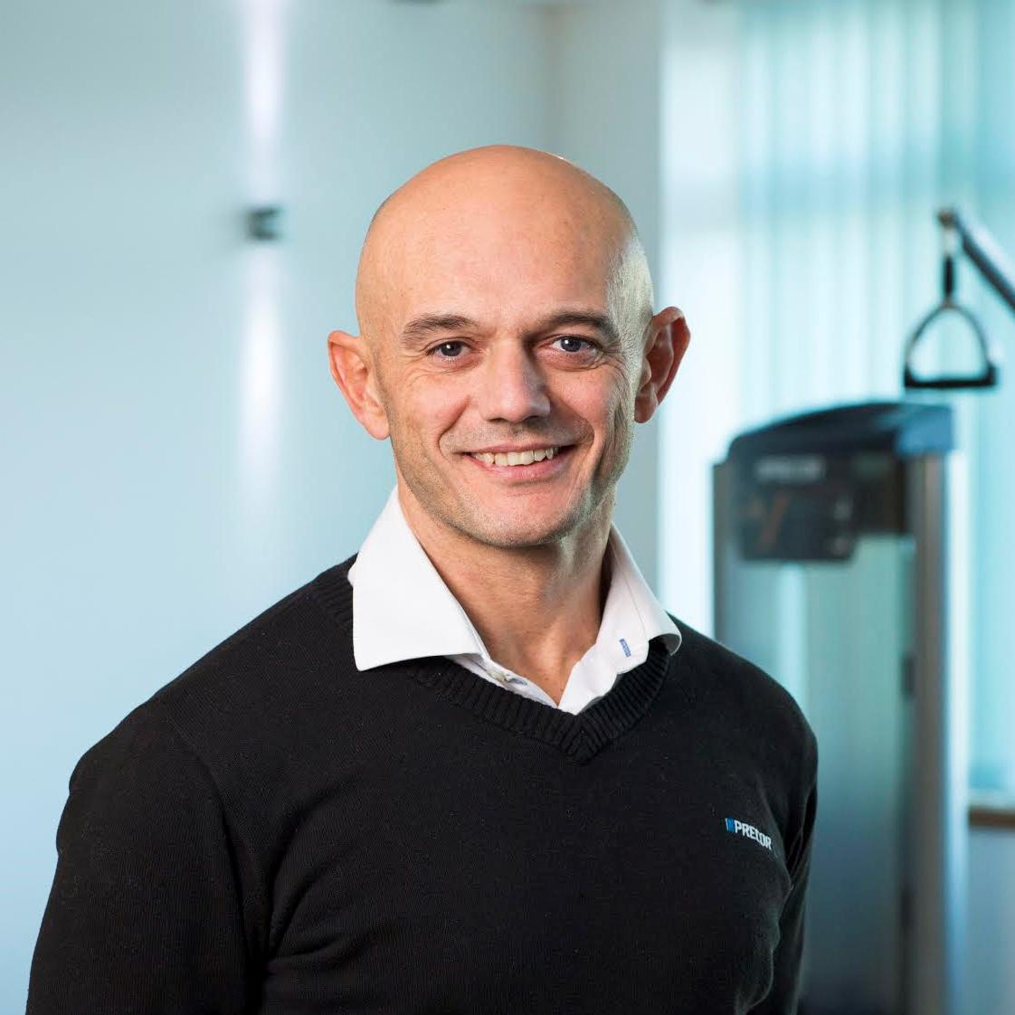 Justin Smith, head of UK at Precor, which has helped kit out the Anytime Fitness gym
