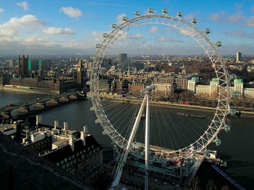 The attraction will be known as the EDF Energy London Eye
