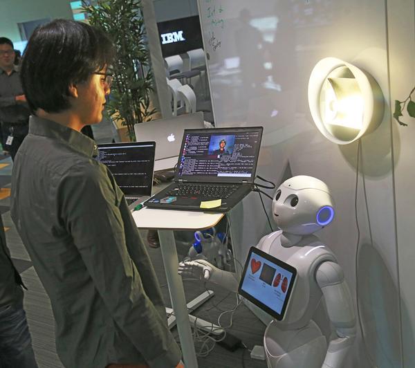 IBM Watson-enabled AI robots help the elderly – will AI PTs be next? / Jack Plunkett/IBM