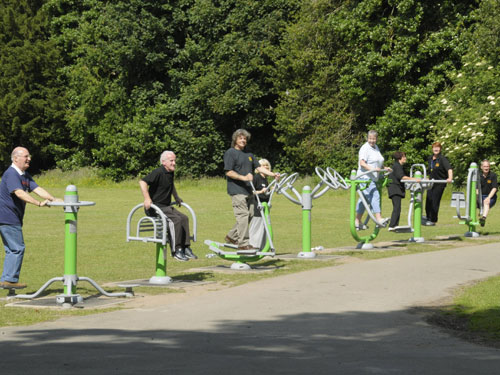 Outdoor equipment for Liverpool parks