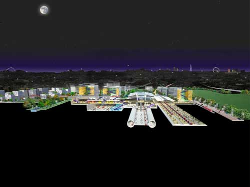 Park Royal City will be developed around a major new railway hub