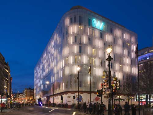 W London is one of the shortlisted UK entries for the WAF Awards