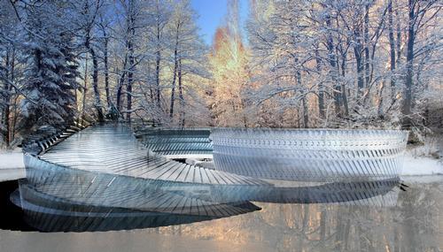 The lake will be kept at temperatures of -6 degrees Celsius / Margot Krasojevi?/V2com