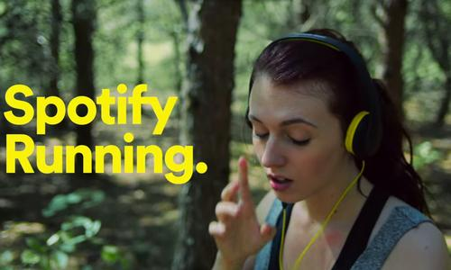 Spotify Running pinpoints a user's pace using their smartphone's accelerometer and gyroscope