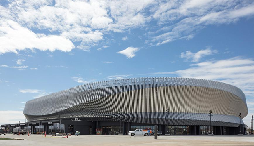 Billy Joel will give the first performance at the new-look arena on 5 April / SHoP Architects