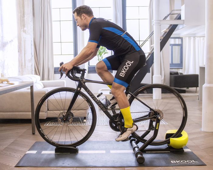 Bkool's Smart Pro 2 is designed to deliver a quieter, more realistic work out