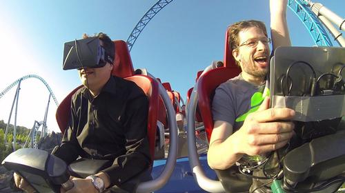 Oculus Rift offers mind-blowing results when paired with a real-life roller coaster