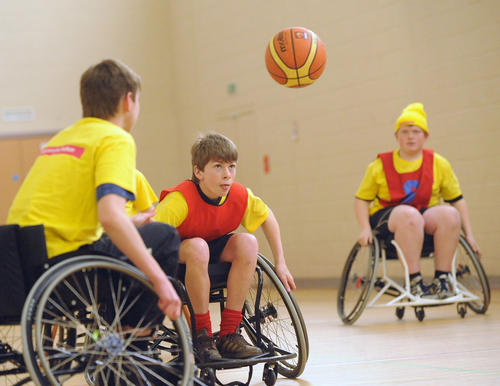 More than 600,000 disabled adults are members of a sports club