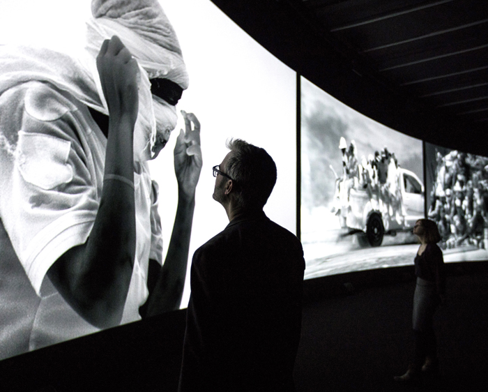 Christie articulates Richard Mosse's thermographic art