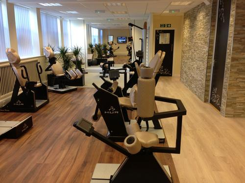 The club houses HUR resistance equipment that combining strength and endurance training