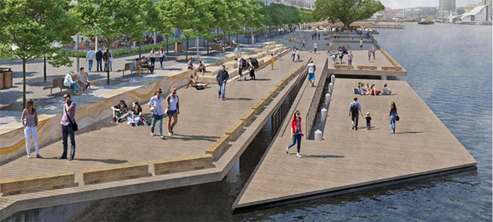 Development firm Lendlease will construct the public space, due to open in 2021 / Barangaroo Delivery Authority