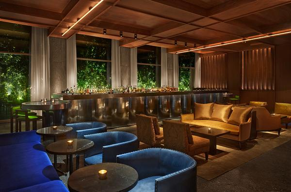 """The Ian Schrager Company designed the """"provocative and flamboyant"""" interiors"""