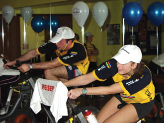 Fitness industry exercises fundraising muscles for victims of Asian tsunami