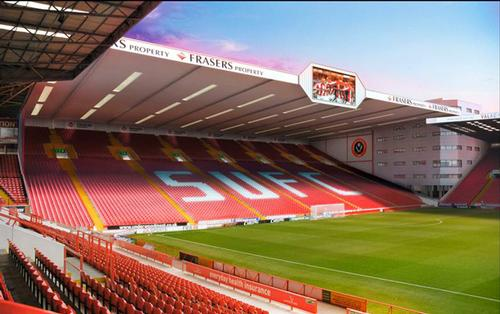 Bramall Lane, the home of Sheffield United