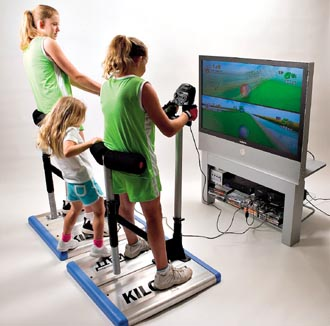 Interactive gyms fight obesity