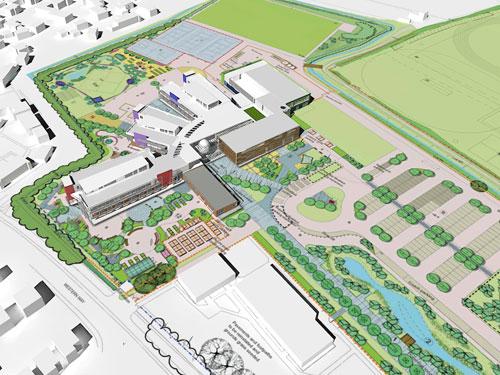 The proposed Chilton Trinity scheme in Bridgwater