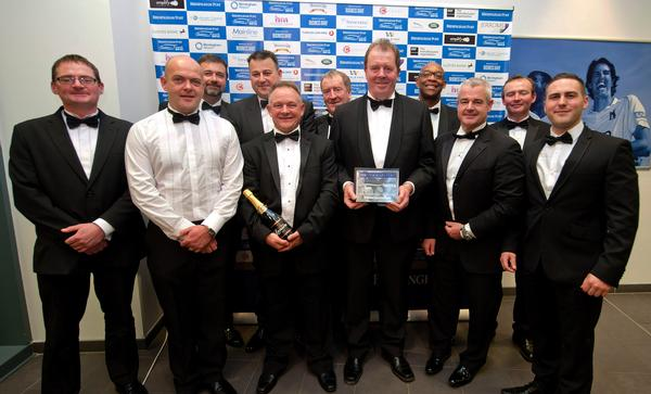 O'Brien team at the awards event