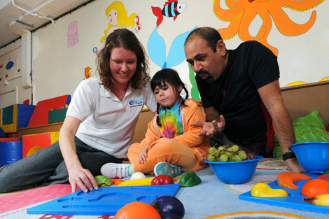 Mytime's MEND kids' nutrition and physical activity programme educates the whole family,