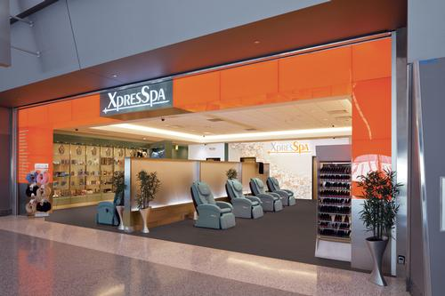New spa unveiled in Chicago's O'Hare Airport terminal redevelopment