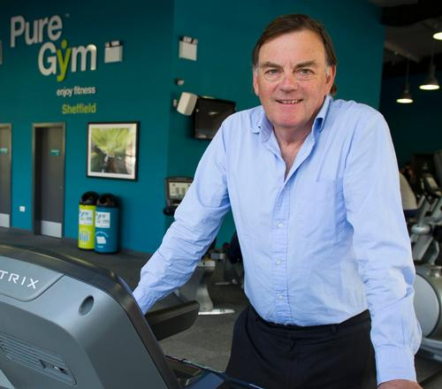 Pure Gym founder and CEO Peter Roberts aims to launch 20 new gyms by the end of 2014, taking the total number of sites to 90