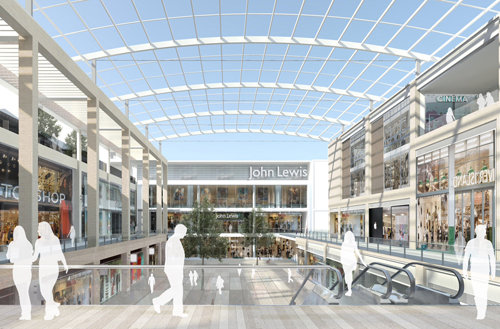 £500m Oxford shopping centre plans gain approval from council