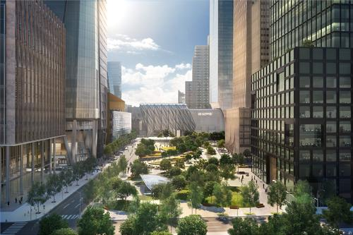Architects Diller Scofidio + Renfro and design studio Rockwell Group unveiled plans for the expandable venue in November last year