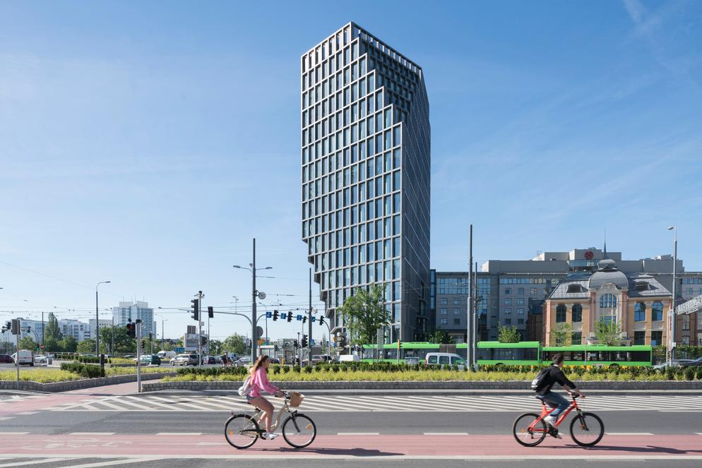The building is a new landmark for Poznan, Poland / Ossip van Duivenbode