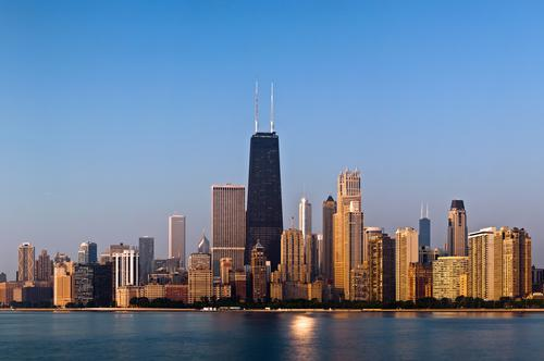 The winning kiosk will play a role in the Chicago Architecture Biennial before eventually being placed on the shoreline of Lake Michigan / shutterstock/ Rudy Balasko