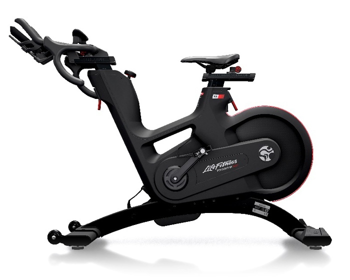 The IC8 trainer was developed with Life Fitness' sister company Indoor Cycling Group