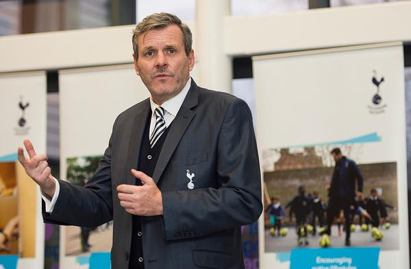 Grant Cornwell MBE, chief executive of the Spurs Foundation