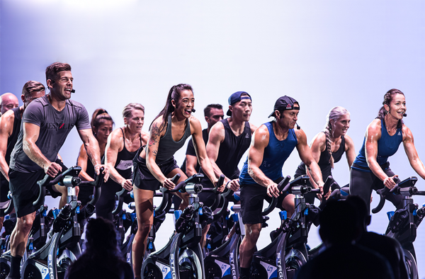 Stages draws in its background in competitive cycling to create its stationary bikes