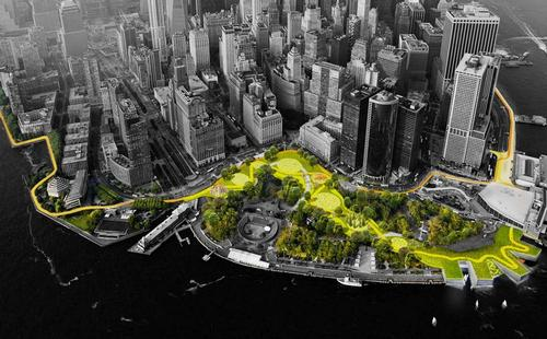 Webinar will explain the vision behind BIG's Dryline scheme for New York City