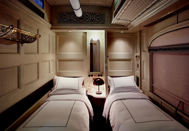 There are four configurations of private, en-suite sleeper cars / Muza Lab