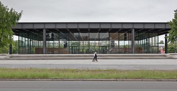 The Neue Nationalgalerie in Berlin is due to be completed in 2019
