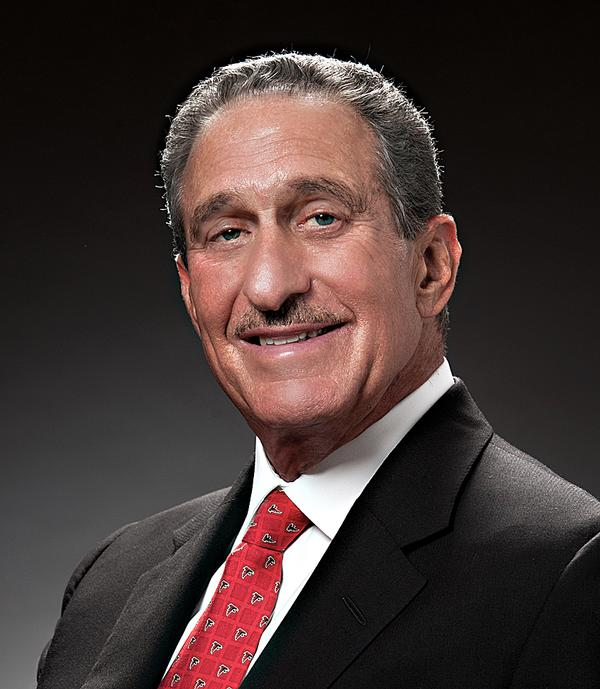 Arthur Blank, owner of the Atlanta Falcons
