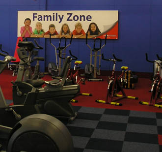 Total Fitness launches Family Zone
