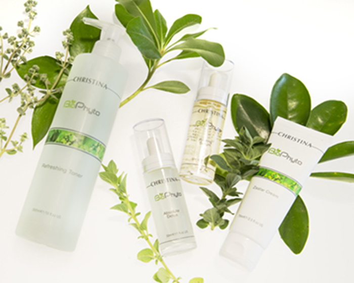 Christina celebrates the launch of BioPhyto – a superbly personalised, balancing treatment for healthy-looking skin 24/7